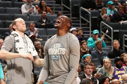 The Hornets will re-sign Bismack Biyombo