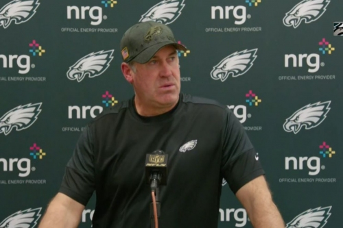Doug Pederson isn't benching Carson Wentz: 'No questions about it, he's our starter'