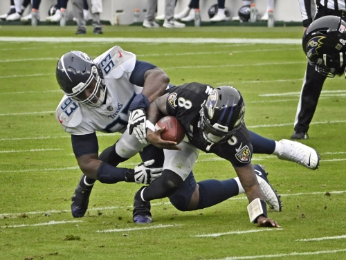 Mike Preston's report card: Position-by-position grades for Ravens' 30-24 OT loss to Titans | COMMENTARY
