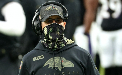Coach Harbaugh on the Ravens' lack of tackling against the Titans | VIDEO