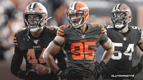 Myles Garrett left 'smiling and crying' over Olivier Vernon, Browns DL