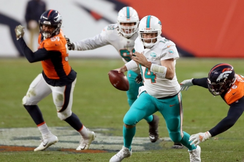The Splash Zone 11/23/20: Dolphins Get Reality Check In Denver