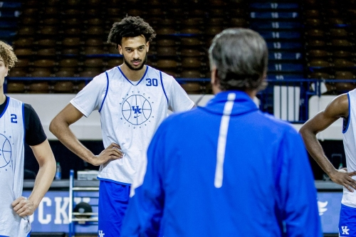 Calipari concerned about his team's fight; Olivier Sarr reveals possible starting lineup