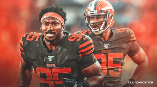 Myles Garrett set to miss Week 12 game vs. Jaguars due to being on COVID-19 reserve list