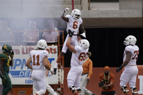 Texas injury situation improved with extra time off