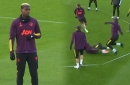 Four things spotted in Manchester United training as Paul Pogba returns