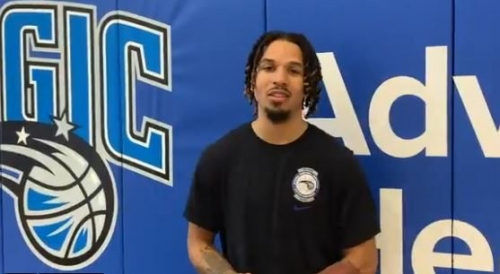 Magic rookie Cole Anthony makes quick transition to NBA workouts
