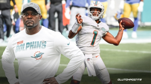 What Brian Flores expects Tua Tagovailoa to do for Dolphins vs. Jets after getting benched in Week 11