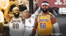 Markieff Morris reacts to re-signing with Lakers