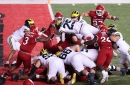 Why Michigan's Jim Harbaugh is happy with his offensive line's play vs. Rutgers