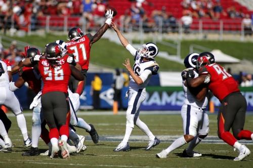 NFL Week 11: Monday Night Football Los Angeles Rams vs Tampa Bay Buccaneers
