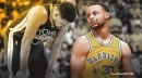 Stephen Curry's emotional reaction to devastating Klay Thompson injury for Warriors