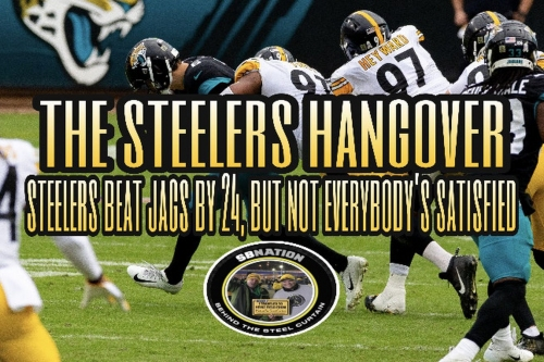 Podcast: Steelers beat Jacksonville by 24, but not everybody's satisfied