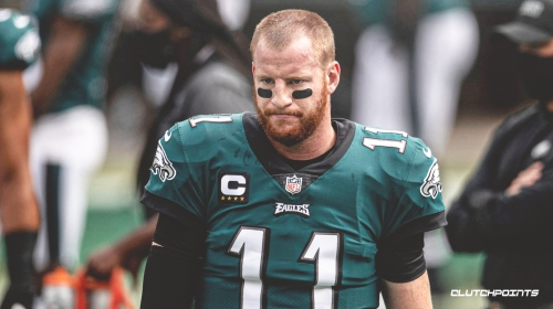 Eagles QB Carson Wentz leads NFL QBs with terrible stat trifecta