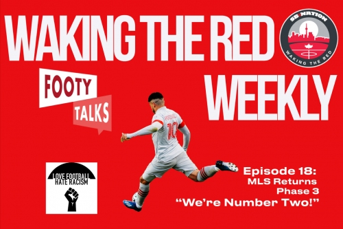 LIVE at 12:00 p.m. EST: Epi. 20—Waking The Red Weekly: MLS Cup Playoffs Preview-Round 1