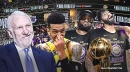 Gregg Popovich's cheeky text to Danny Green about LeBron James, Anthony Davis after Lakers won title