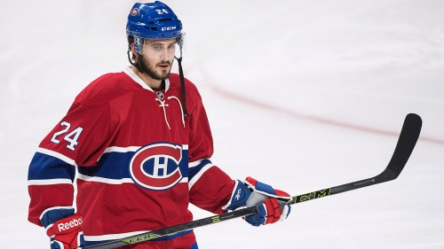 Canadiens' Danault appears at ease playing without contract extension