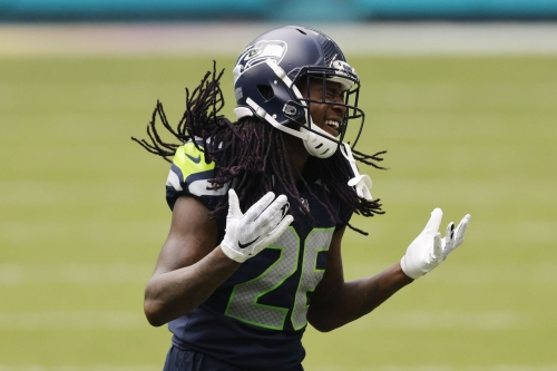 Shaquill Griffin, Chris Carson, and Ethan Pocic return to practice