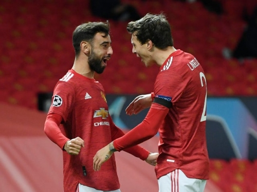 Man United's Bruno Fernandes reveals reason for giving up hat-trick penalty