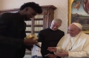 Magic forward Jonathan Isaac thrilled to meet Pope Francis, share social justice views