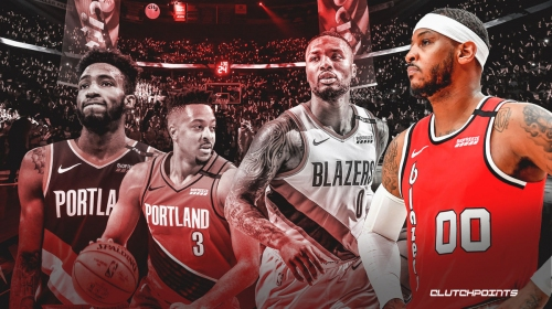 Carmelo Anthony's days as a starter for Blazers is over, per team exec