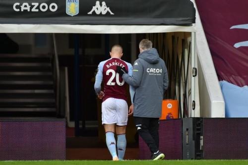 Villa dealt Barkley injury blow as Man City sent Grealish response