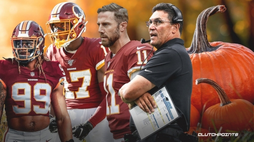 Washington Football coach Ron Rivera considers 'smashing pumpkins' to motivate team