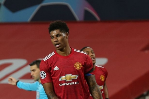Why Marcus Rashford played on the right wing for Manchester United