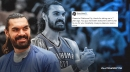 Steven Adams says goodbye to Thunder en route to Pelicans in his classic eccentric manner