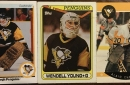 Look at this collection of random Penguins hockey cards sitting in my basement