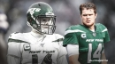 Jets' Sam Darnold's injury status for Dolphins game, revealed