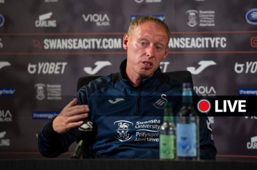 Swansea City press conference - Live updates