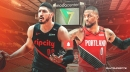 Damian Lillard's first text to Enes Kanter after trade should get Blazers fans excited