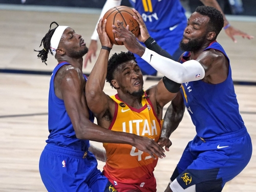 Donovan Mitchell earned a max extension, yes, but first-round loss to Nuggets still eating away at him