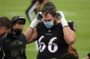 The Ravens had one practice squad player test positive for COVID-19 Friday