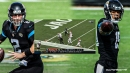 Jaguars' Mike Glennon shocks world with 46-yard TD strike to Collin Johnson after Baker Mayfield's misfire
