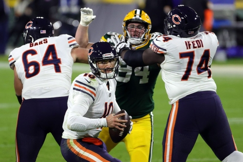 Bears losing streak really hits its stride in 41 to 25 collapse against Packers
