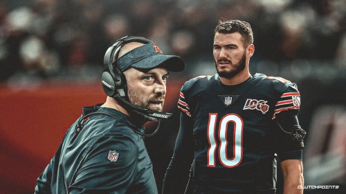 Matt Nagy speaks out on job security with Bears after 5th straight loss