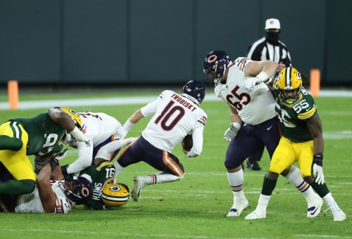 Will a 5th straight loss get someone fired? Brad Biggs' 10 thoughts after the Chicago Bears lost 41-25 to the Green Bay Packers.