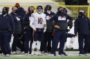 Winners and losers from the Chicago Bears' Week 12 loss, including Jim McMahon's pregame segment, George Halas' legacy and Tarik Cohen's tweet