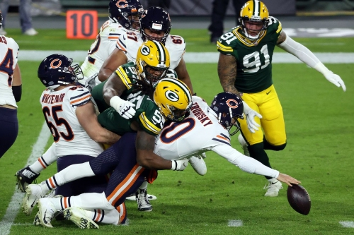 Notes: Bears humiliate themselves in 'SNF' loss to Packers