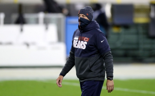 The Chicago Bears never have fired a coach during the season, but Matt Nagy's job status is in the spotlight after a 'flat-out embarrassing' loss to the Packers