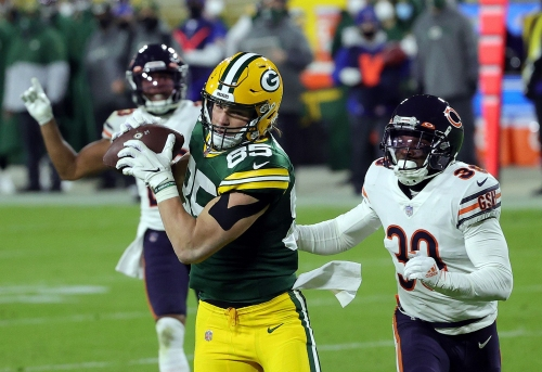 Eddie Jackson was caught gambling, and Mitch Trubisky's old tendencies showed up again. 3 observations from rewatching the Chicago Bears' Week 12 loss.