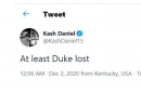 Twitter reactions to Kentucky's loss to Kansas