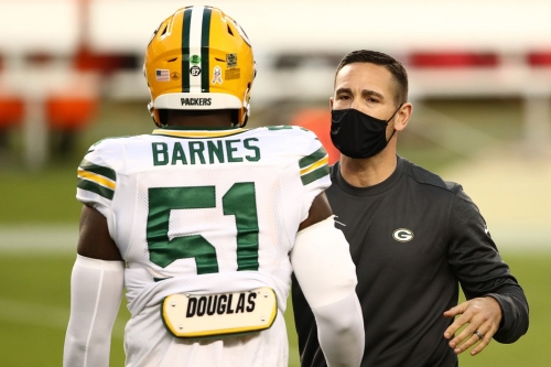 Packers activate rookie LB Krys Barnes from reserve/COVID-19 list after 3-game absence