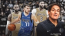 Mark Cuban reacts to Luka Doncic, Mavs facing LeBron James, Lakers on Christmas