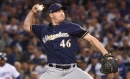 Dodgers acquire reliever Corey Knebel in trade with Brewers