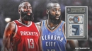 James Harden Thunder rookie card sells for $50,101 with 58 bids