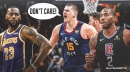 Nuggets star Nikola Jokic doesn't care about Lakers or lack of respect after beating Clippers