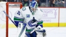 Who has the inside track to be Canucks starting goalie?